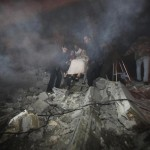 Hamas and Israel should stop use of explosive weapons in populated areas