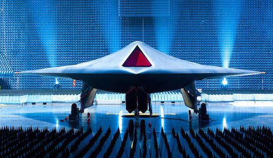 The UK's Taranis stealth UAV. (Flickr/Qinetiq https://www.flickr.com/photos/qinetiq/4789729740/)