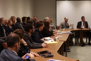Some of the audience at the side event (Peter Asaro)