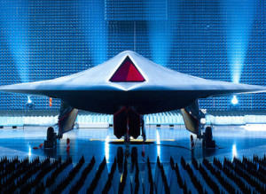 The UK's Taranis stealth UAV. (Flickr/Qinetiq https://www.flickr.com/photos/qinetiq/4789729740/)