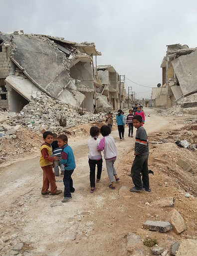 Children in Azaz, Aleppo governorate in Syria (© IHH Humanitarian Relief Fondation https://flic.kr/p/mC9de1)