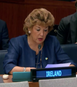 Ireland delivers joint statement on EWIPA at UN General Assembly First Committee © Humanity and Inclusion