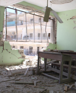 A destroyed school in Syria (Photo: Various agencies/Failing Syria report)